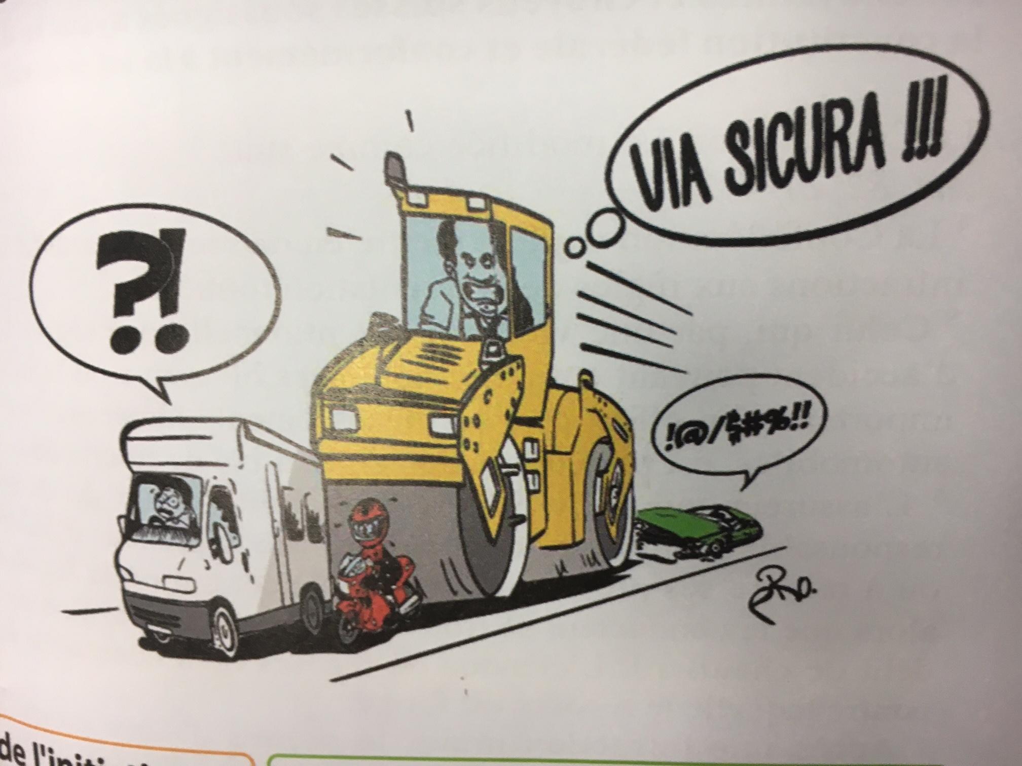 Via Sicura ist zu übertrieben !