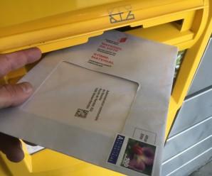Administration, finances et politique : vote par correspondance